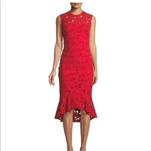 Shoshonna for Anthropologie incredible lace midi